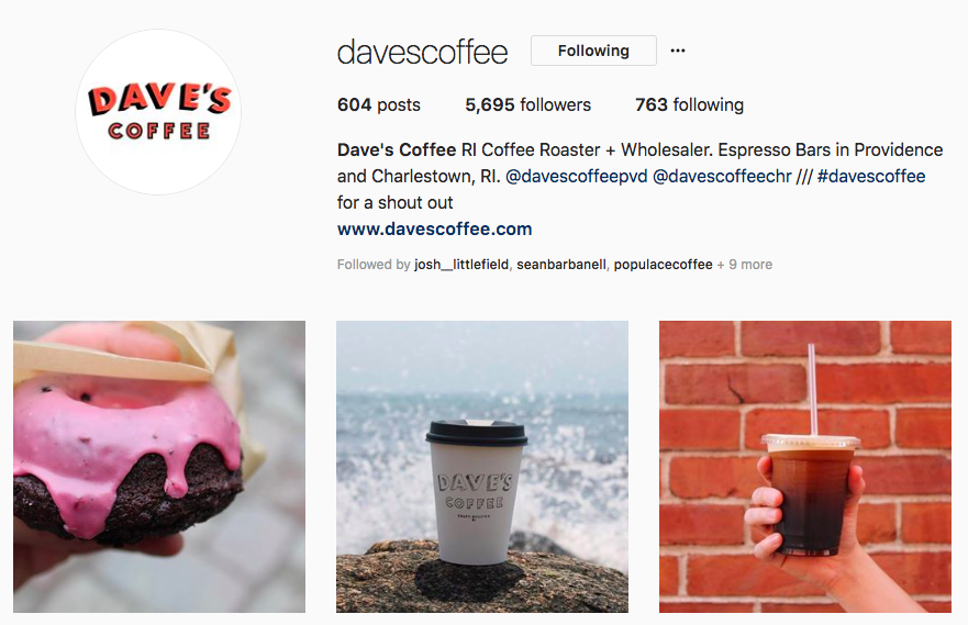 daves coffee bio