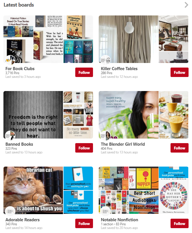 Having a diverse content strategy is beneficial when running a Pinterest for business