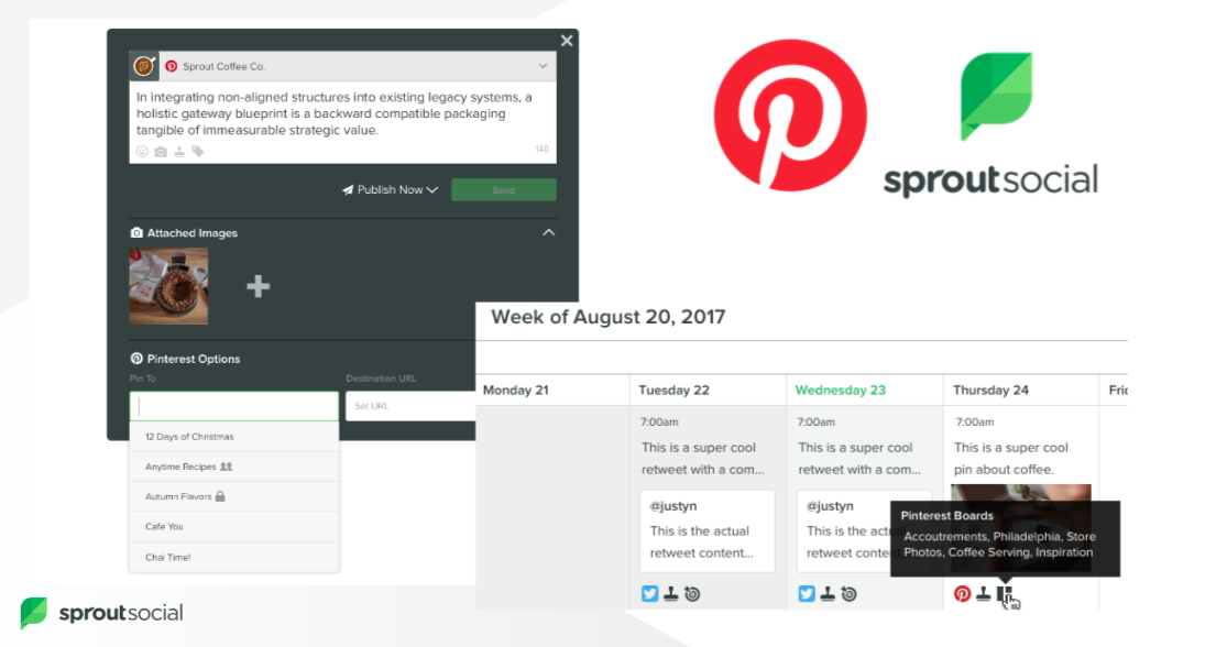 Pinterest scheduling can help brands plan out their content calendar