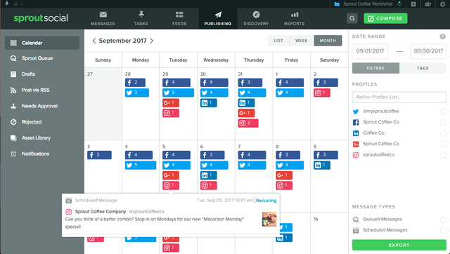 Having a content calendar can help you fine-tune your Pinterest posting strategy