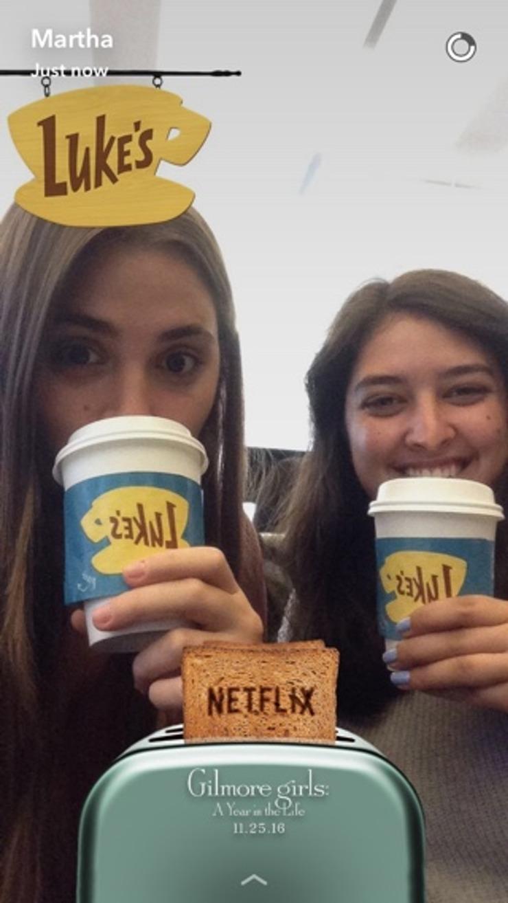 Snapchat de Netflix