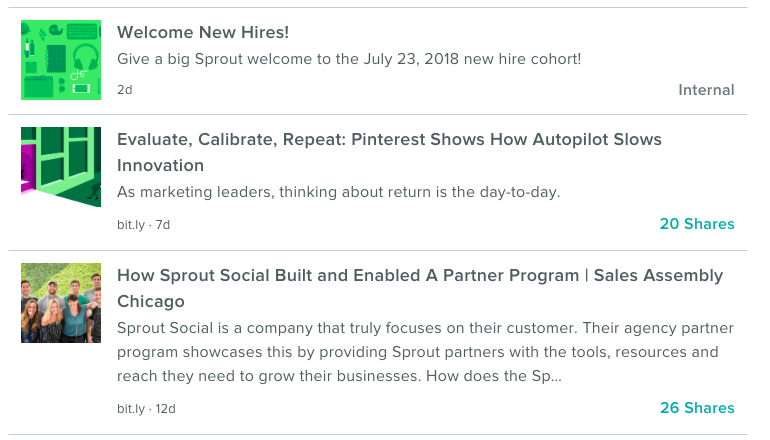 Bambu by Sprout enables employee advocacy