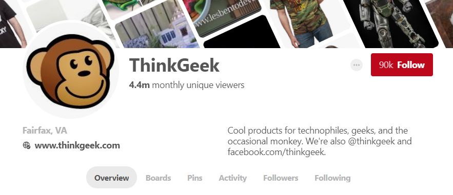 Well-crafted social profiles show what your brand is also about while also being recognizable