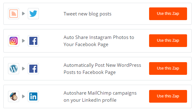 Zapier makes it easy for brands to automate their social marketing efforts