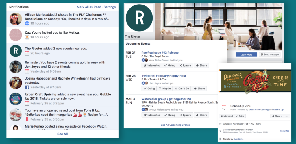 facebook strategy example