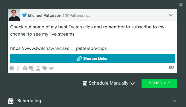 "Live Twitter Feed"": A Twitch Extension Powered by Sprout Social"