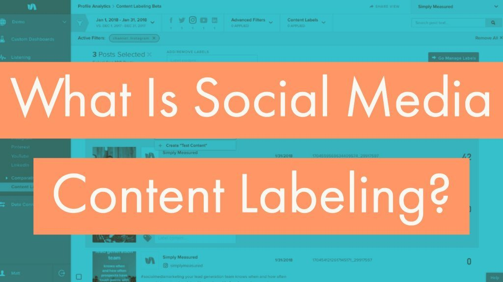 What is Social Media Content Labeling?