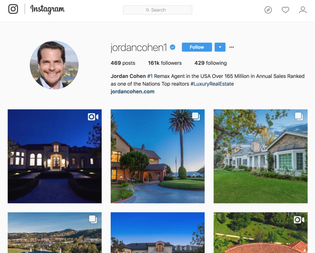 jordan cohen instagram profile