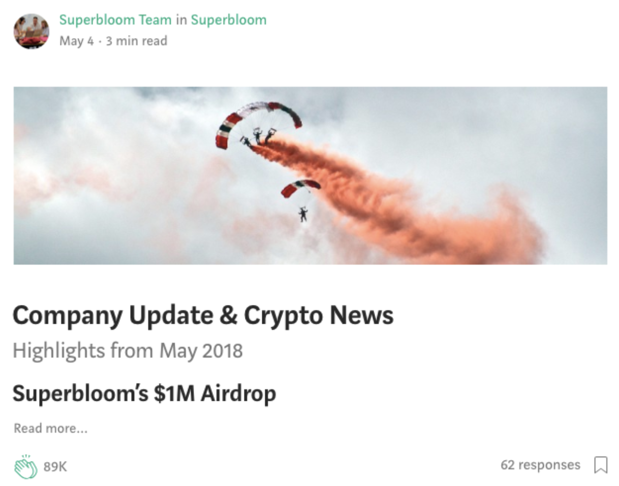 popular crypto post on medium