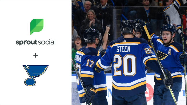 St. Louis Blues blog header