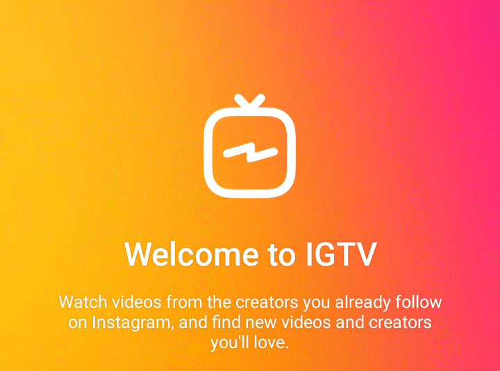 Image result for instagram tv