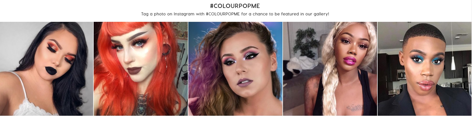Lookbooks are all the rage right now for beauty brands promoting their hashtags