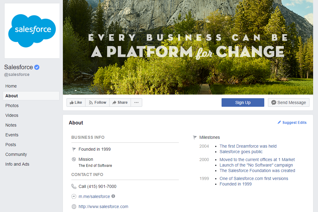 A filled out profile with optimized imagery looks like a million bucks to potential followers