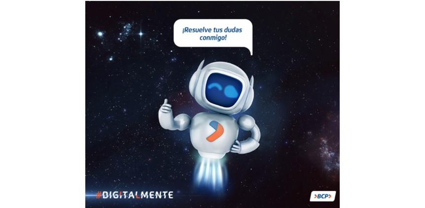 Chatbot Arturito, del banco BCP.