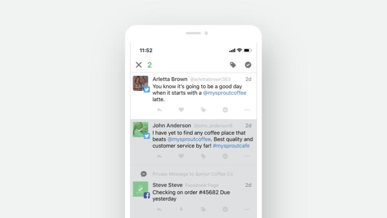 Bulk Actions iOS