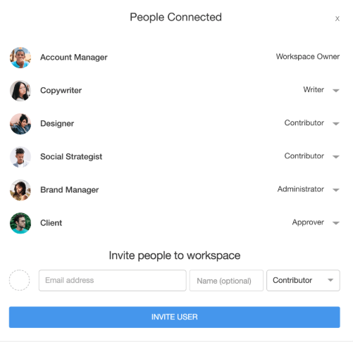 Planable stimulates collaboration beyond your social media team