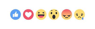 Reacciones de Facebook.