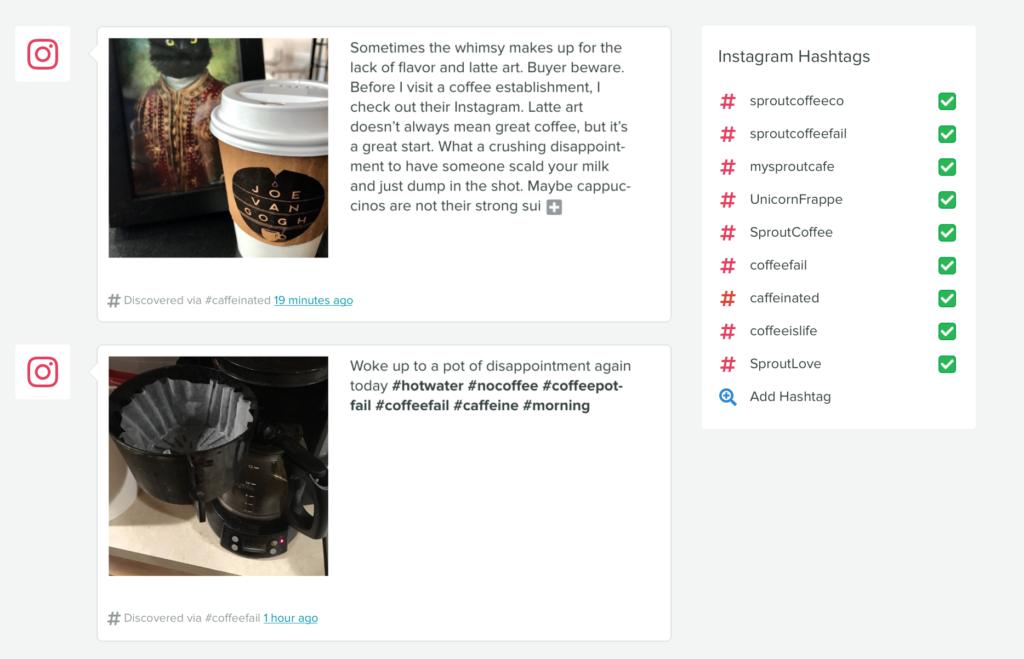 instagram hashtag report