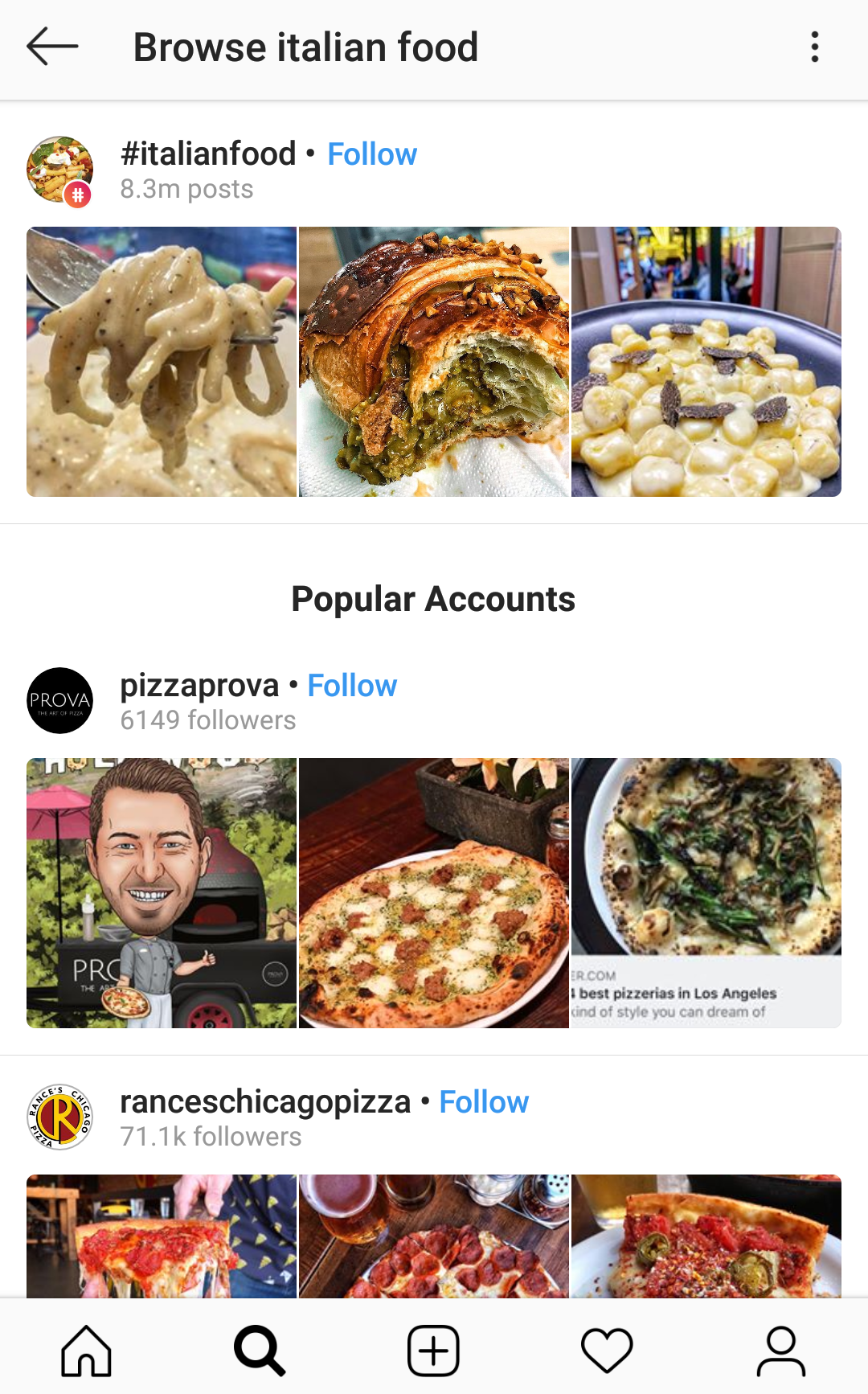 Instagram's native search is quite broad for Instagram listening