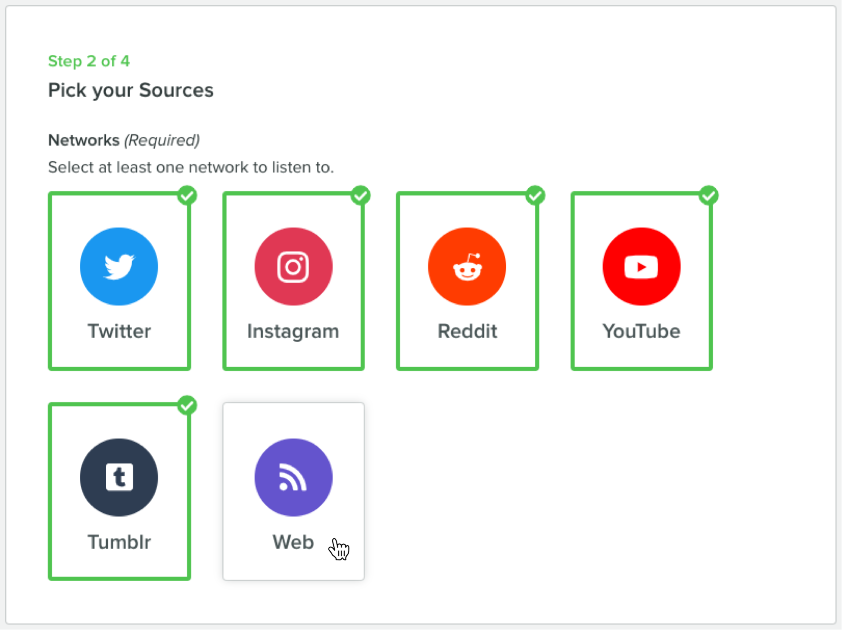 sprout social listening networks