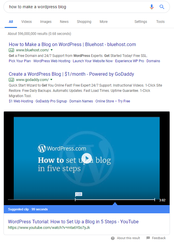 How-to and tutorial-based content does well in Google searches