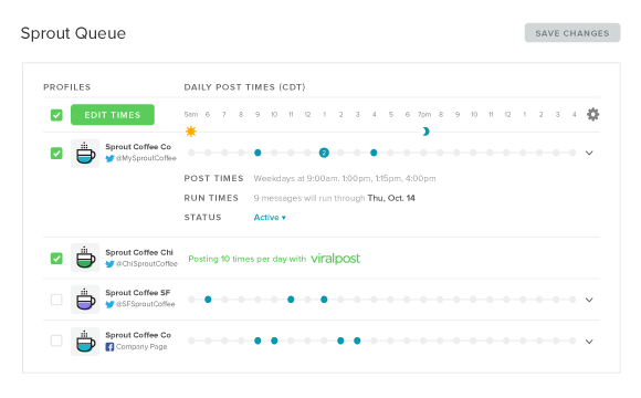 Viralpost is an invaluable tool for optimizing your post's engagement for conversions