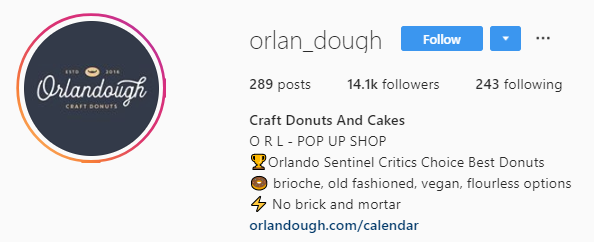 orlandough Instagram bio