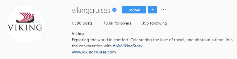 viking cruises instagram