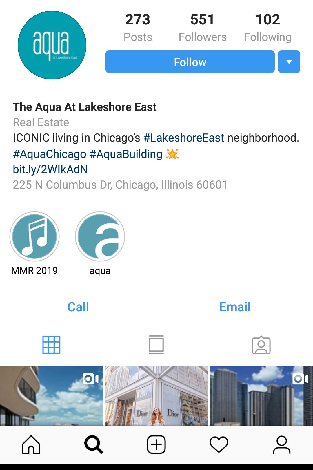 aqua instagram bio