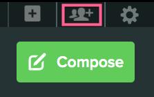 sprout invite user button