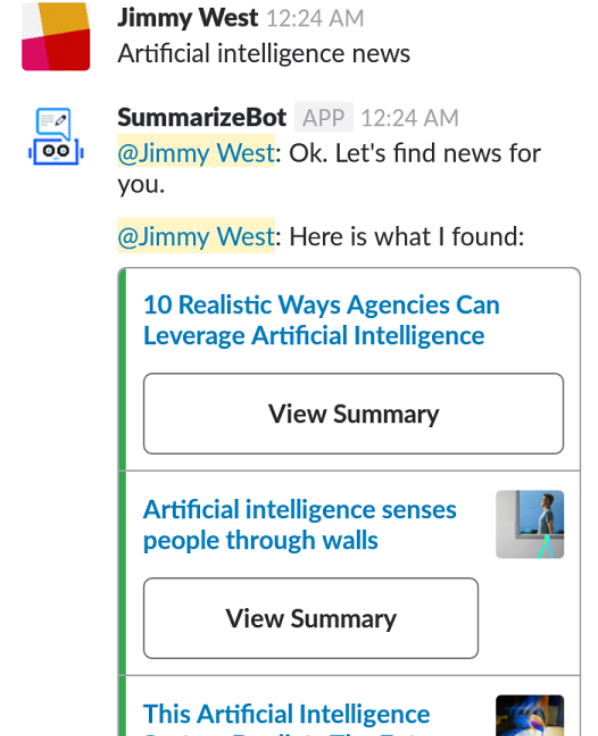 Summarizebot can simply more complicated articles