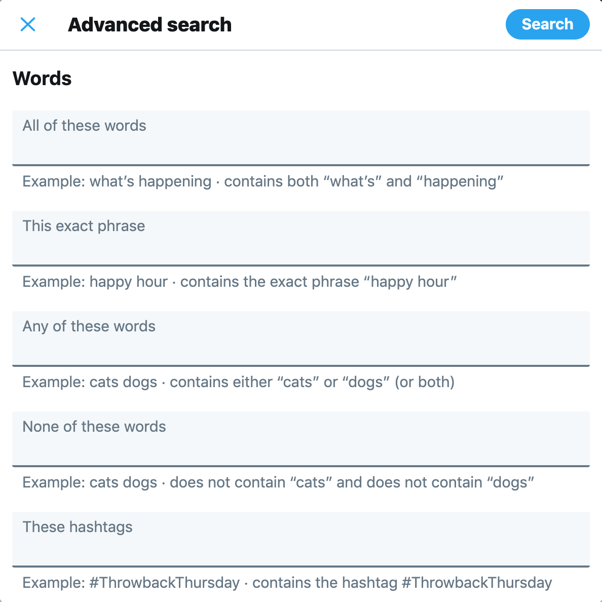 How to Search Your Twitter History and Why It Matters