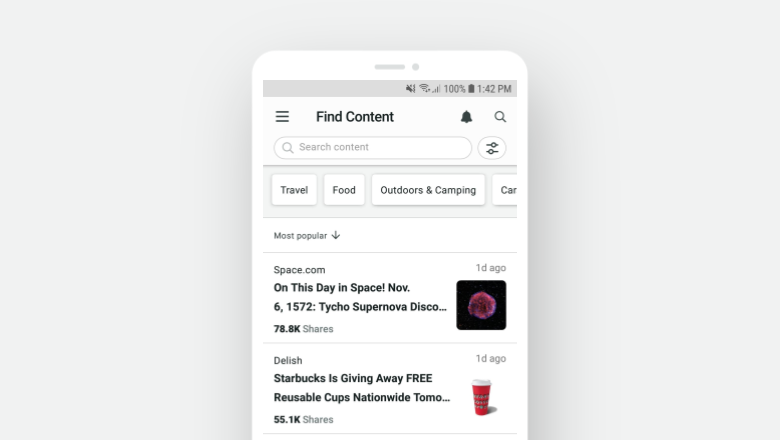 Find Content Android