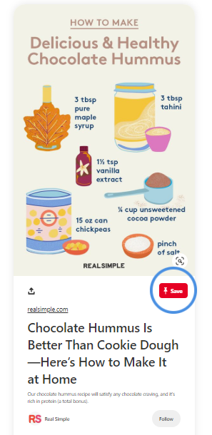 pin from real simple