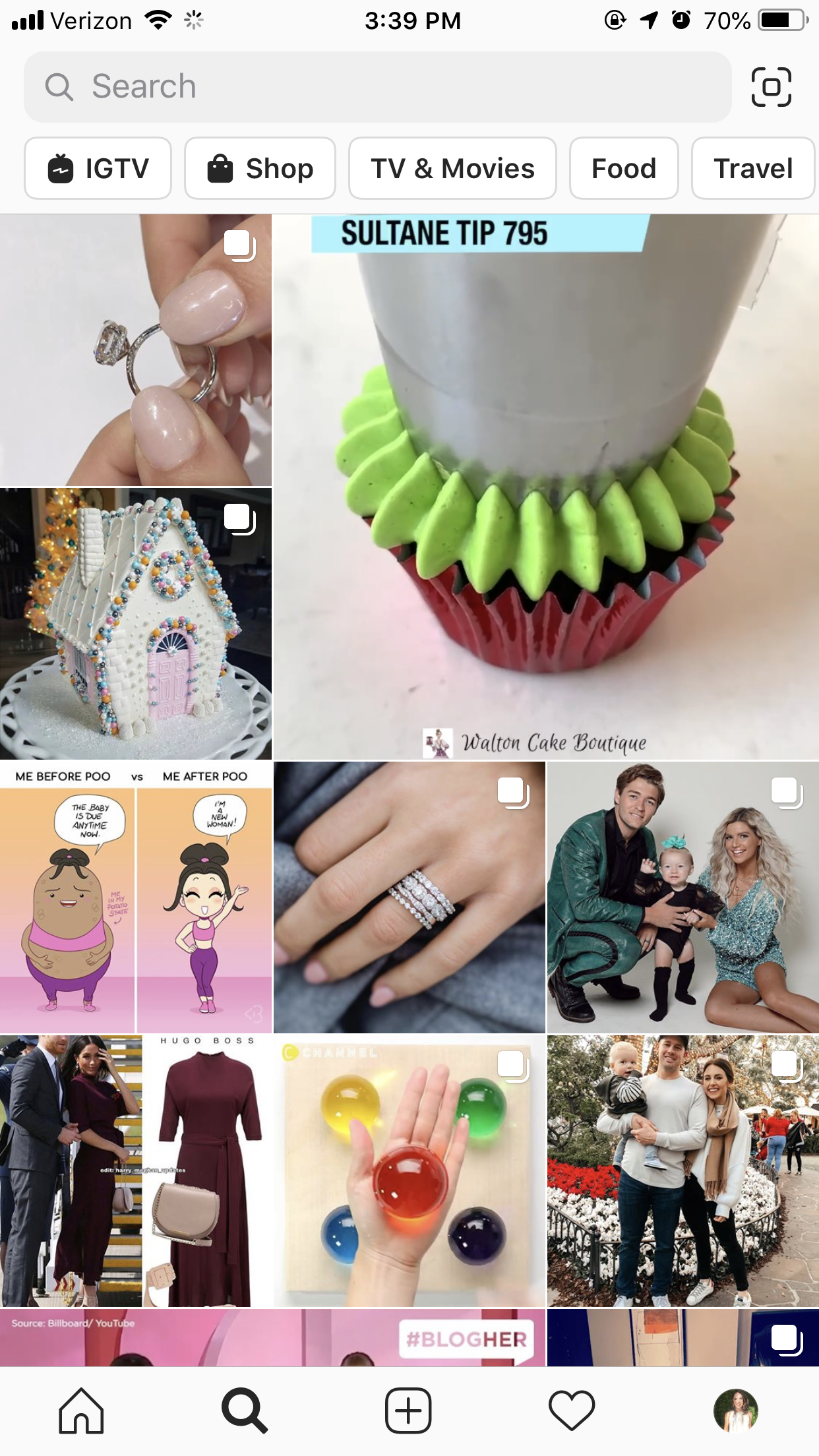 instagram trends - igtv in explore