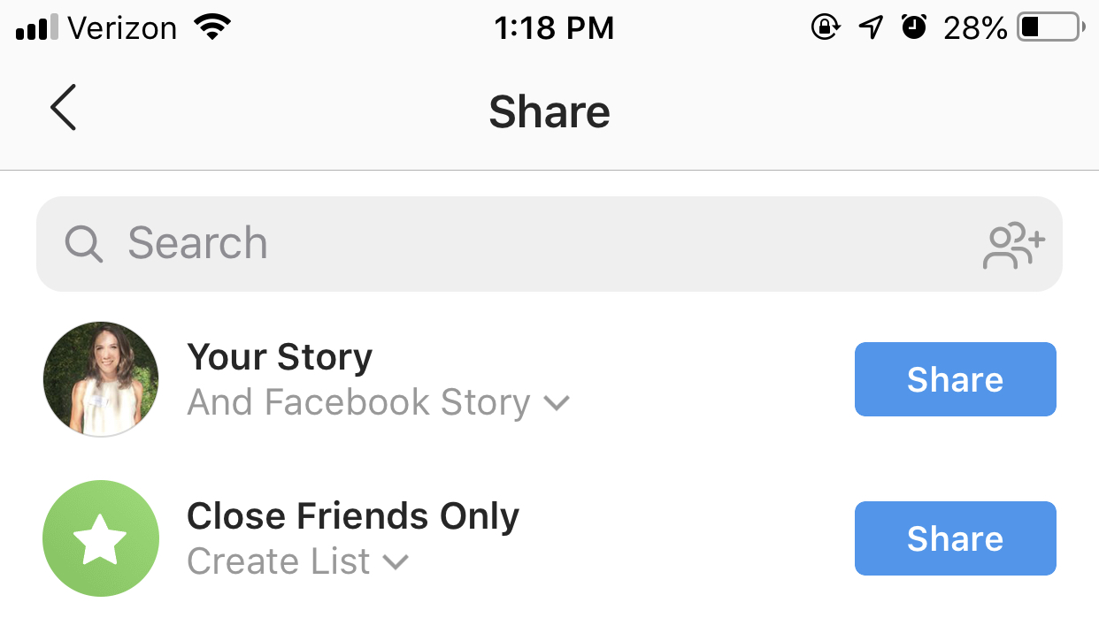 instagram trends - cross-promote instagram stories to facebook stories