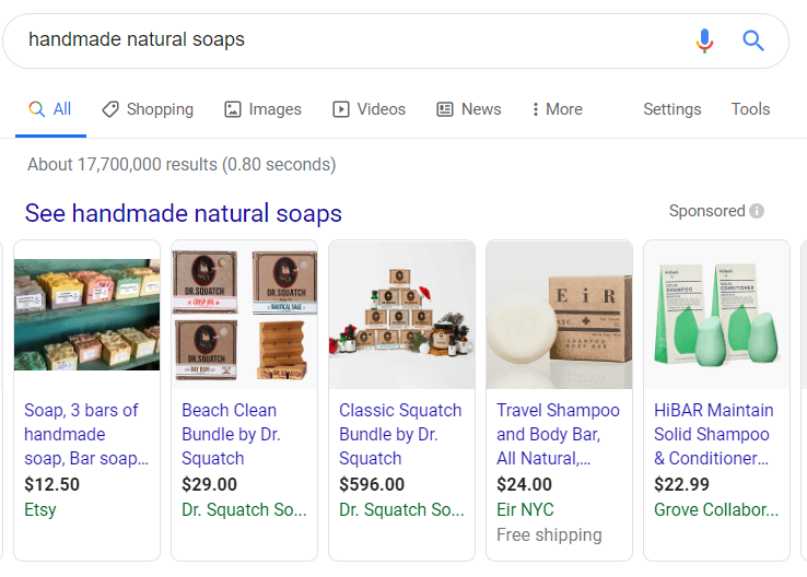 homemade natural soaps google