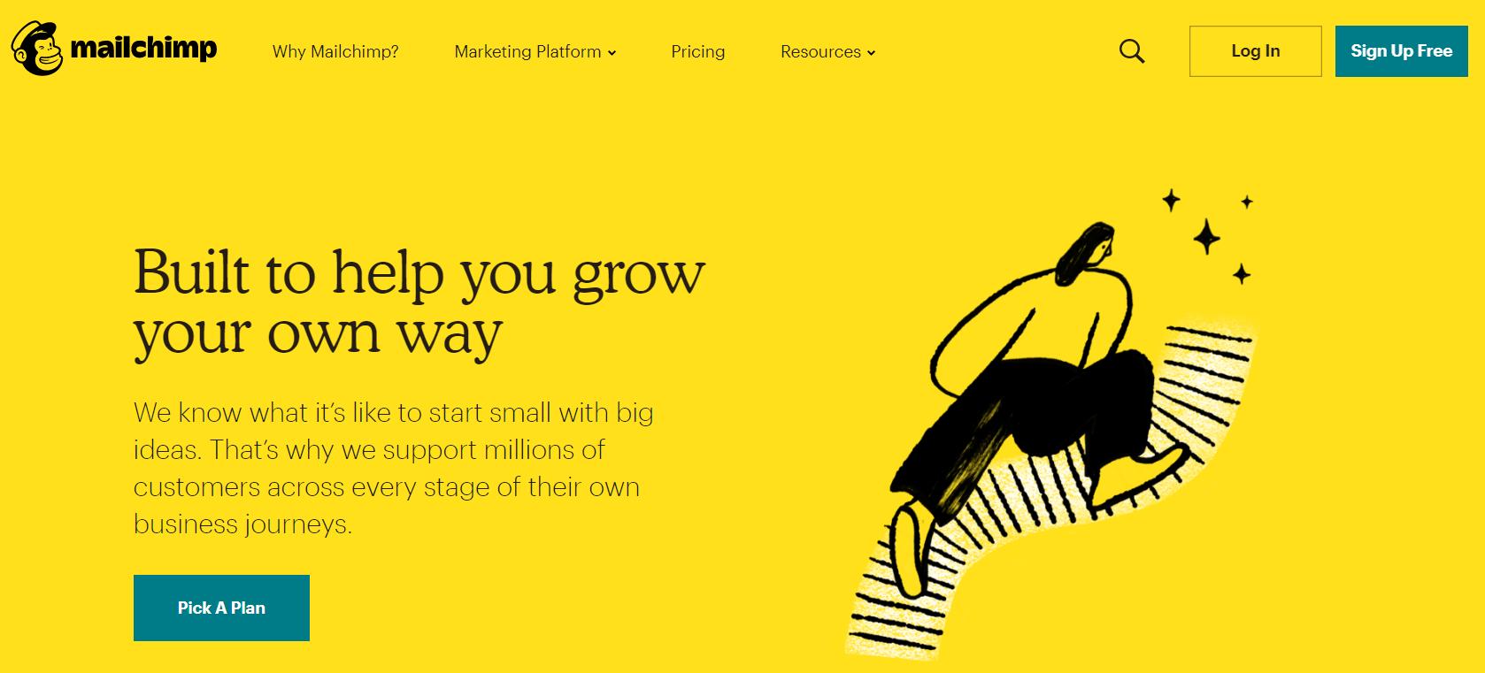 MailChimp branding
