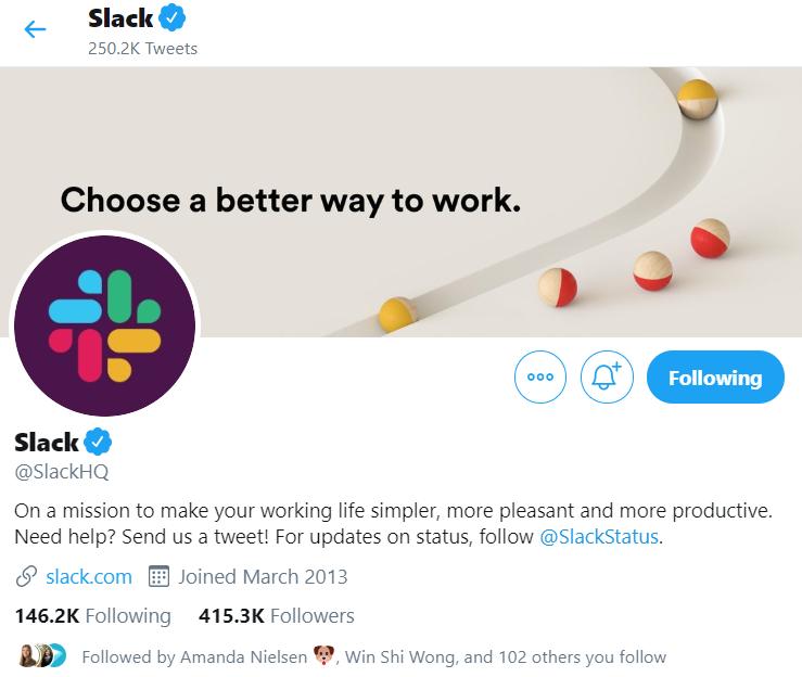 Slack branding