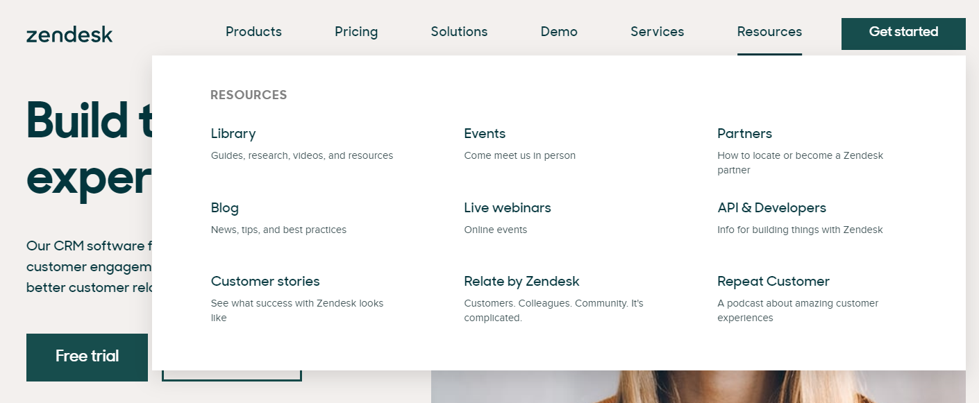 Zendesk resoures and knowledge base