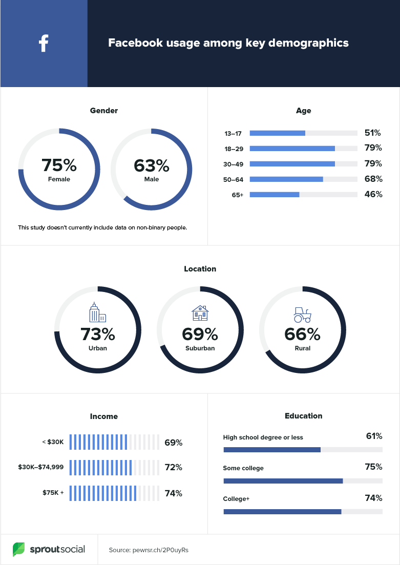 Facebook demographics 2020