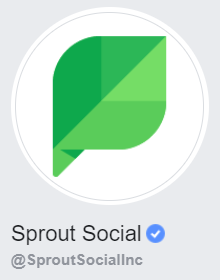 sprout social facebook business page icon