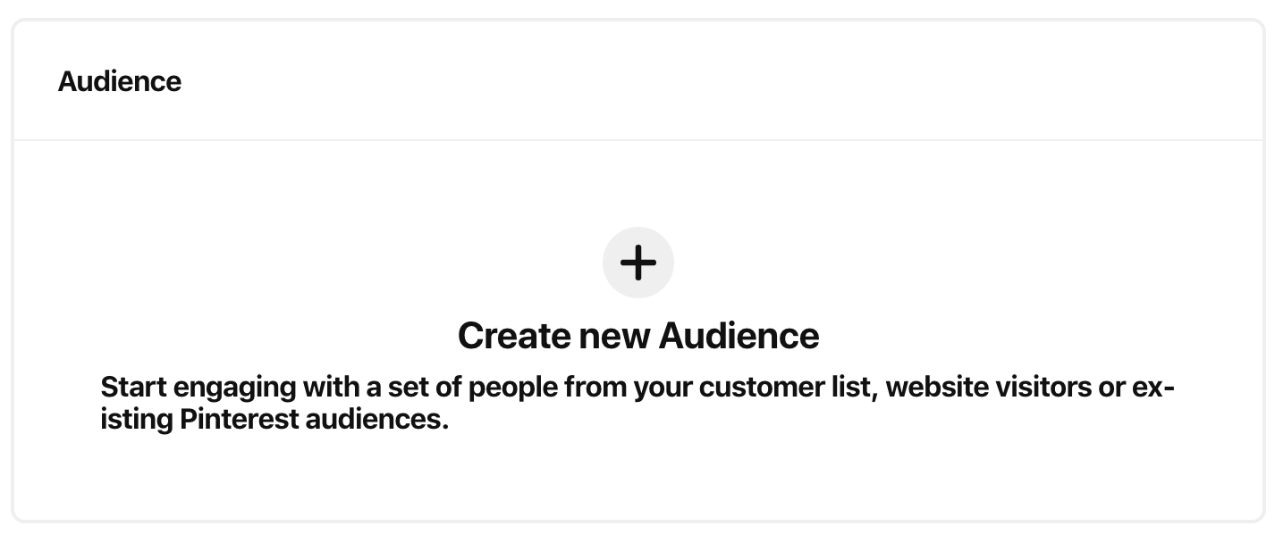 pinterest ad targeting - pinterest audience targeting