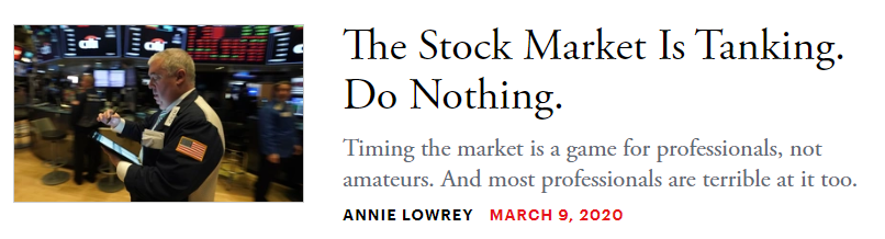 short headline writing example from the Atlantic