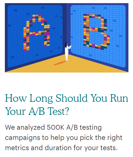 mailchimp question headline writing example