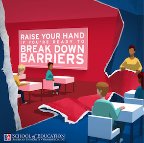 American University Break Down Barriers