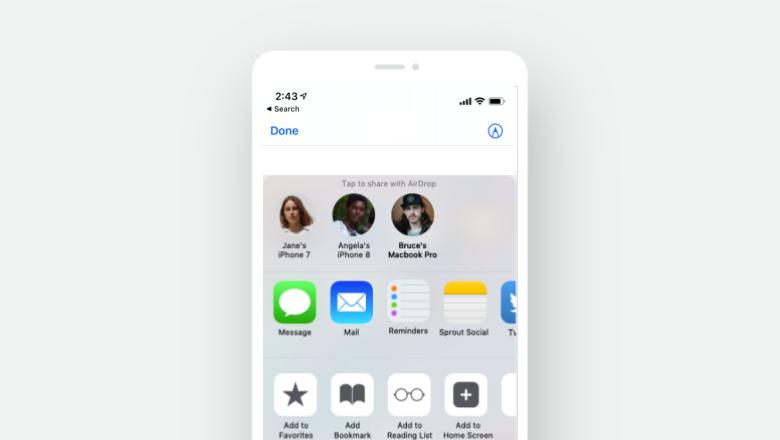 Mobile Reporting iOS