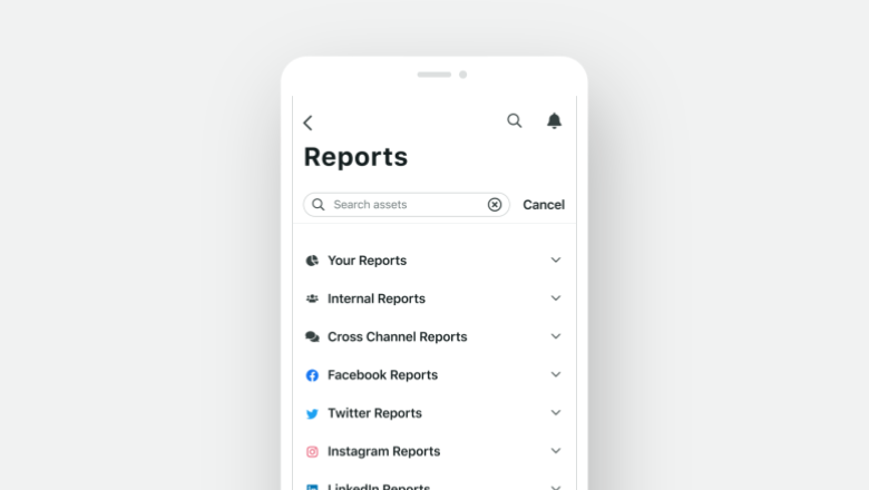 Mobile Reporting iOS