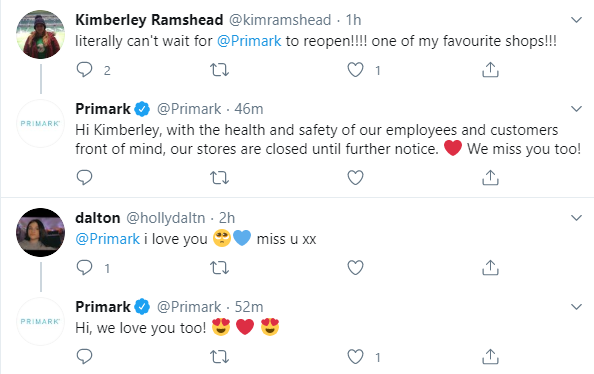 primark customer relationship example