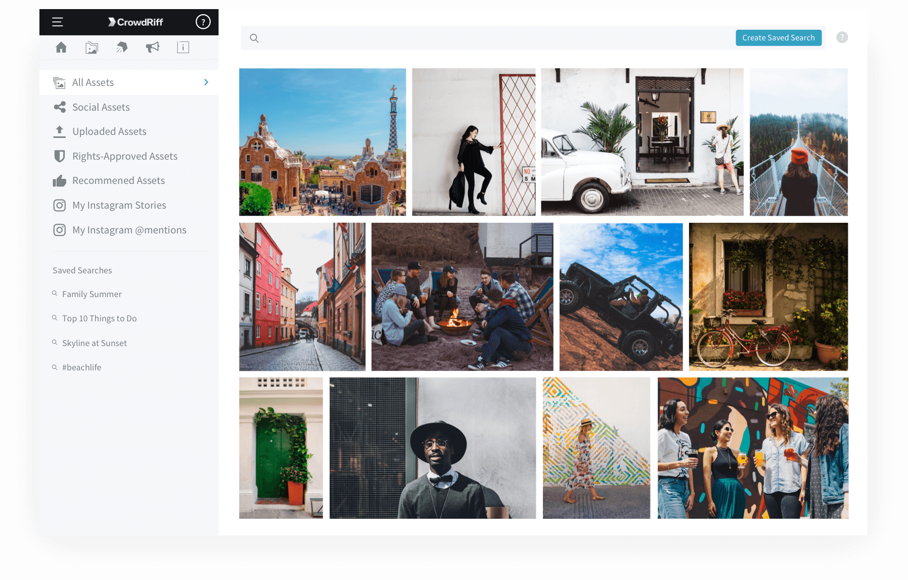 tools like crowdriff automatically discover and source content on instagram